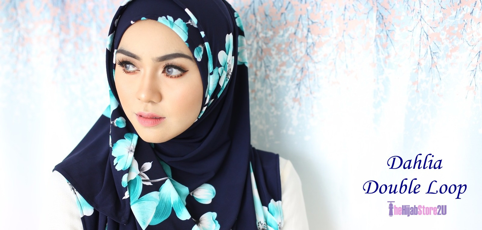 Dahlia Double Loop Shawl Lycra