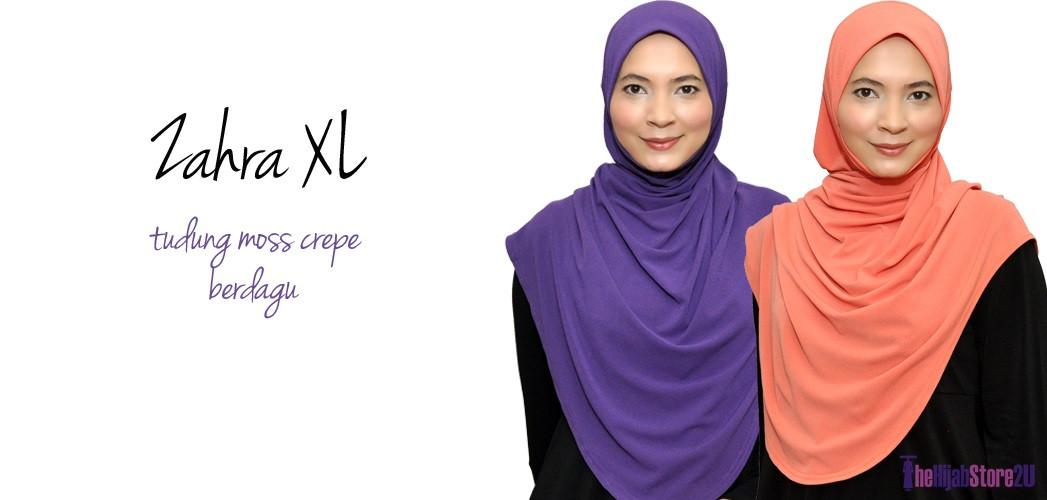 Tudung Zahra XL