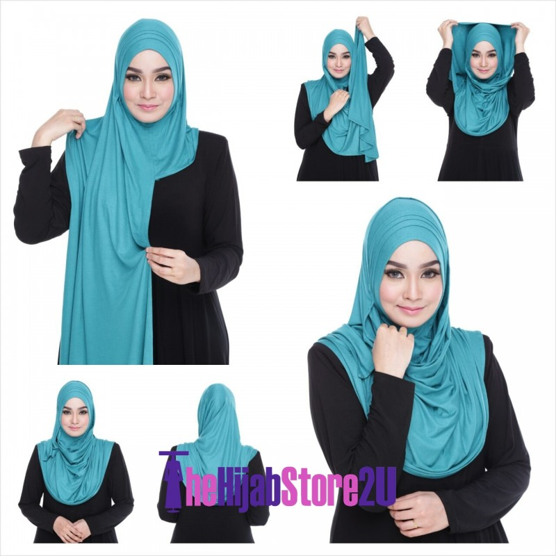 Petunia Cotton Instant Shawl
