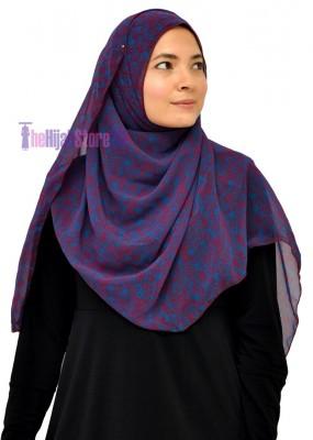 Chiffon shawl
