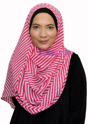 Double Loop Instant Shawl Murah