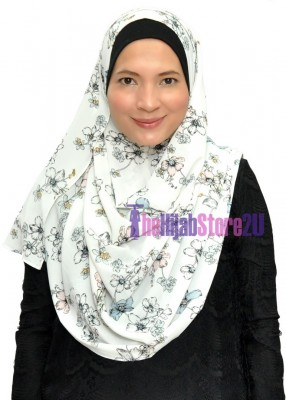 Bubble Crepe Instant Shawl