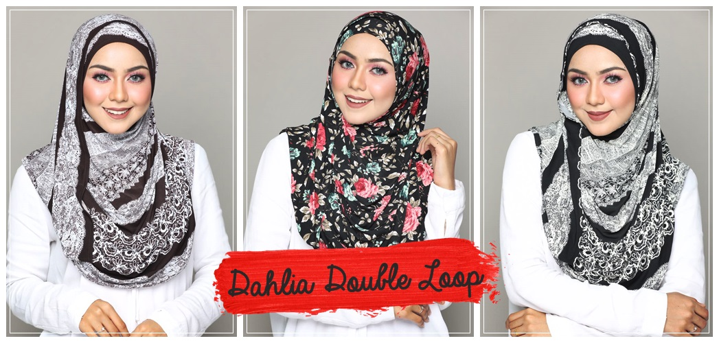 Dahlia Double Loop Instant Shawl