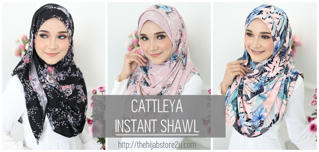 Cattleya Double Loop Instant Shawl